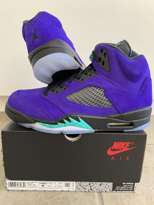 Air Jordan 5 Alternate Grape (Size 8.5) for Sale in Orange, CA
