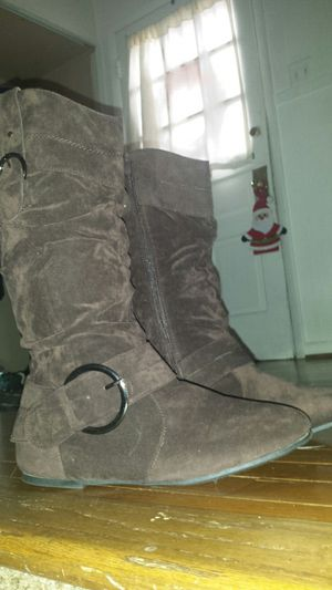 Brand New* Stylish Brown Women's Boots (size 9) for Sale in Fairfax, VA