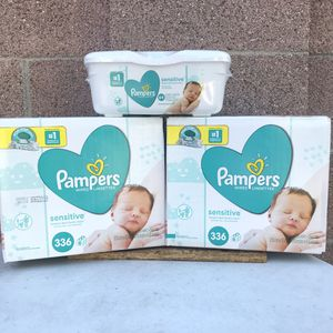 Pampers REFILL Wipes (All items Included)📍NO DELIVERY📍LOCATION IS LISTED BELOW📍 for Sale in Norwalk, CA