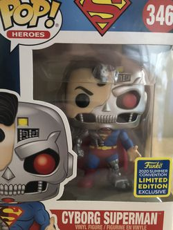 Funko Pop! Heroes #346 Cyborg Superman (2020 Summer Convention Limited Edition Exclusive) for Sale in Cerritos,  CA