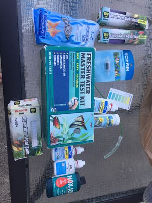 Fish tank products for Sale in Dearborn Heights, MI