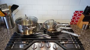T-fal Stainless Steel Cookware Set for Sale in Saratoga Springs, UT