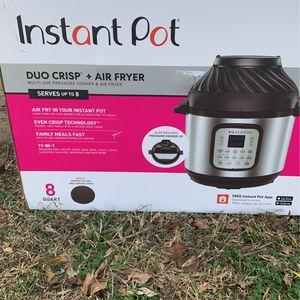 Instant Pot Duo Crisp And Air Fryer for Sale in Allen, TX