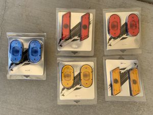 Trailer lights Pack of Two Piece $1 Each Pack for Sale in Hesperia, CA