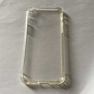 iPhone X clear phone case for Sale in Denver, CO