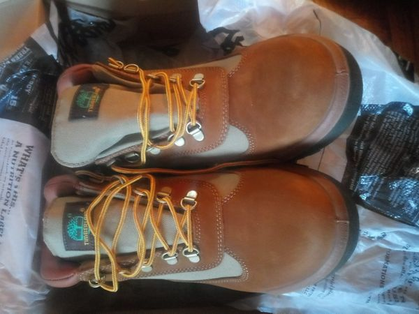 Brand new timberland field boots