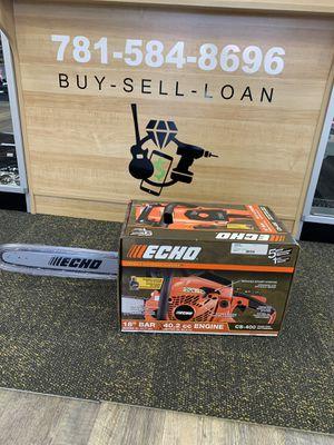 """ECHO CS-400 18"""" 40.2cc Gas 2-Stroke Cycle Chainsaw. Brand new. for Sale in Lynn, MA"""