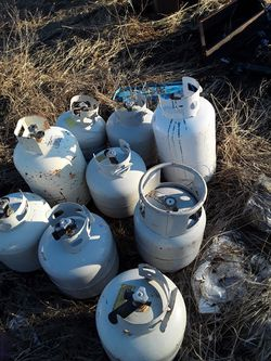 Propane tanks $10.00 each or three for $25,00 for Sale in Newport,  WA
