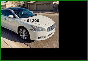 Price$1200 Nissan Maxima for Sale in Bernice, LA
