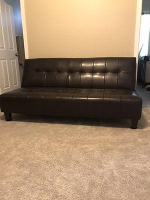 Leather futon for Sale in Surprise, AZ
