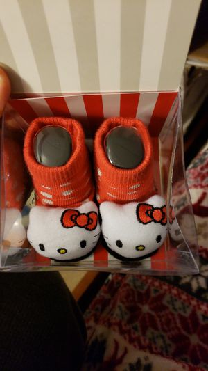 Hello kitty socks / rattle for Sale in Vallejo, CA