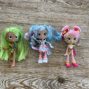 SHOPKINS SHOPPIES SET OF 3 DOLLS for Sale in Seal Beach, CA