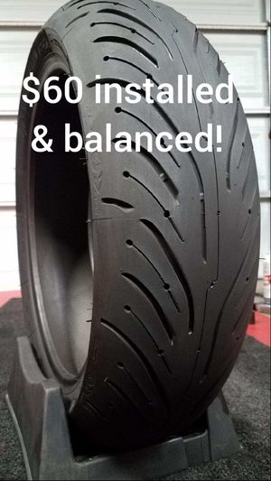 Low Budget Michelin Pilot Road 4 Motorcycle Tires for Sale in Lakewood, CA