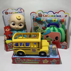 Cocomelon Toy Bundle JJ Plush Doll Musical Doctor Checkup Set Yellow School Bus for Sale in Hicksville, NY