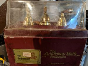 All brass bathroom faucet. Brand new never used. for Sale in Pittsburgh, PA