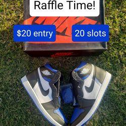 Jordan 1 royal toe raffle! for Sale in Phoenix,  AZ