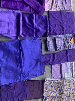 Purple Fabric for Sale in Houston,  TX