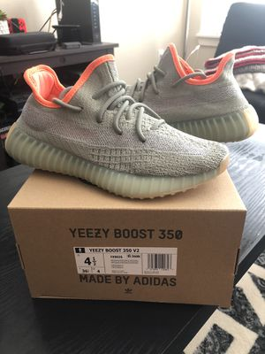 Adidas Yeezy 350 boost v2 desert sage size 4.5 DS og all from dicks sporting goods for Sale in Bellevue, WA