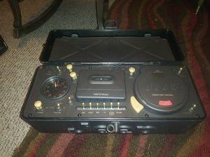 Jeep Portable C/D Cassette Radio for Sale in Wichita, KS