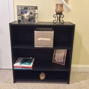 Black Bookcase adjustable Shelves Storage for Sale in Marshfield, MA
