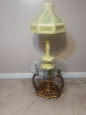 Antique Lamp and table for Sale in Philadelphia, PA