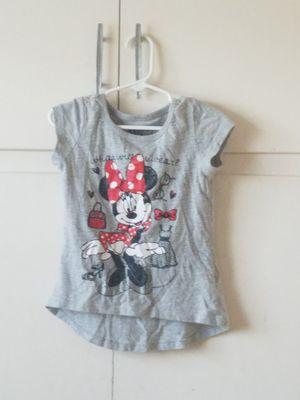 Minnie mouse tshirt size 5t for Sale in Lynwood, CA