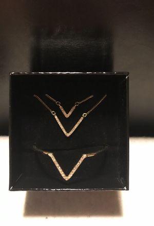 Victoria secret necklace & bracelet for Sale in Cleveland, OH