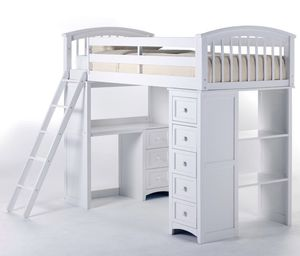 School house LOFT BED with ladder for Sale in Irwindale, CA