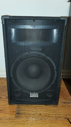 Acoustic Audio Speaker for Sale in Coppell, TX