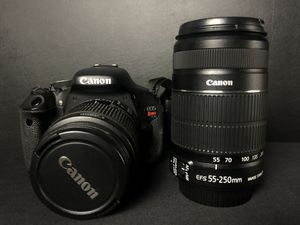 Canon Rebel T3i 600D for Sale in Tampa, FL
