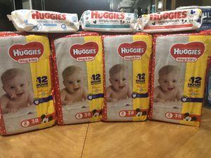 Huggies size 2 diaper bundle for Sale in Plantation, FL