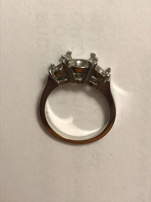 3 Stone Wedding Band - Platinum for Sale in Powell, OH