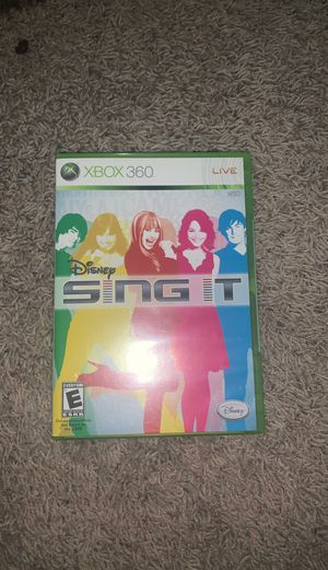Disney Sing It. Xbox 360 for Sale in Tucson, AZ
