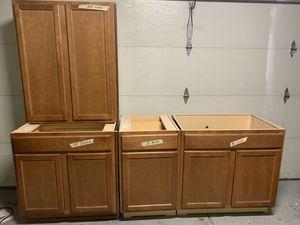 Cabinets for kitchen and bathroom ‼️‼️READ DESCRIPTION ‼️‼️ for Sale in Aurora, CO