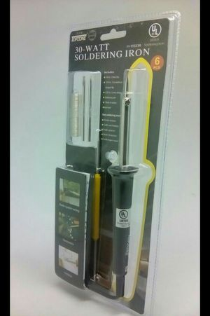 30 W 6 PC Electric Soldering pencil Iron for Sale in San Bernardino, CA