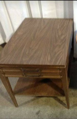 Walnut Formica Top Mersman End Table for Sale in Newark, OH