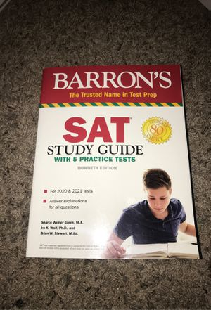 ACT and SAT study guides for Sale in Charlotte, NC