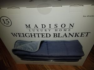 Luxury home 15lb weighted blanket for Sale in Ansonia, CT