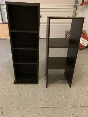 2 bookshelves $30 for Sale in Raleigh, NC