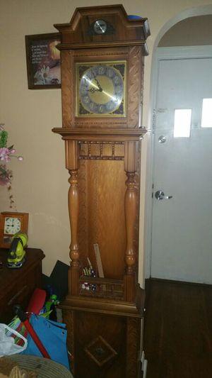 Antique tempus fugit grandfather clock for Sale in Dallas, TX