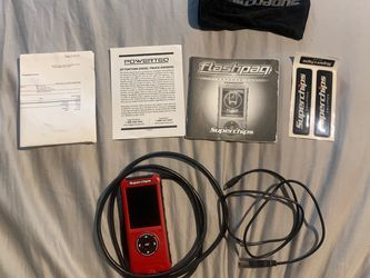 Superchips Flashpaq F5 Tuner - 03-12 Dodge 5.9L/6.7L Cummins & Gas Vehicles for Sale in Fort Myers,  FL