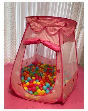 Kids Play Tent with Pit Balls | Kids Girls Toys 💕 for Sale in Miami, FL