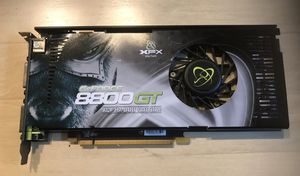 XFX GeForce 8800GT 512 MB 640 Mhz PCI-E SLI Dual DVI Video Card (PV-T88P-YDE4) for Sale in Concord, NC