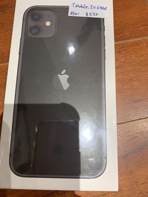 Brand new in box. iPhone 11 64g T-Mobile. On sale $550. Trust dealer. for Sale in Rockville, MD