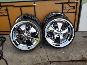 RIMS 235/30R22 ...5 LUGS FIT CHEVY IMPALA MUSTANG NISSAN ALTIMA NISSAN MAXIMA GRAN MARKIS FORD RANGER DODGE CHARGER DODGE MAGNUM CHRYSLER 300 for Sale in Phoenix, AZ