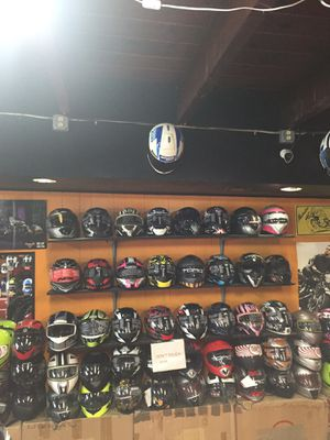 Motorcycle helmet s half -3/4 open face- full face flip up off road and more for Sale in Santa Fe Springs, CA