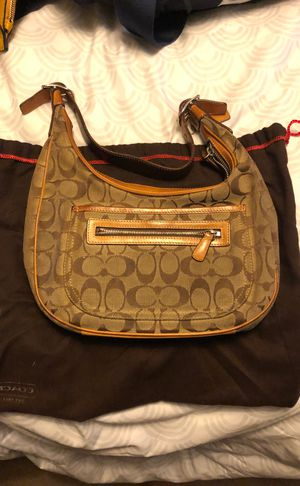 Classic Signature Hobo Coach Bag for Sale in Baltimore, MD