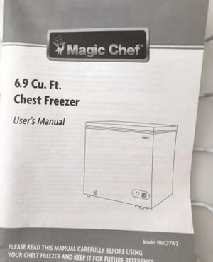 Brand New Freezer Chest for Christmas - Payson for Sale in Payson, AZ