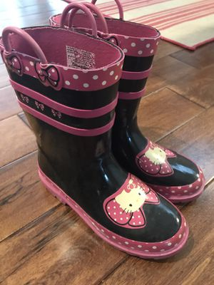 Girl's rain boots for Sale in Pittsburgh, PA