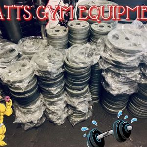 Standard And Olympic Weight Plates $1.85 Per Pound for Sale in Fort Lauderdale, FL
